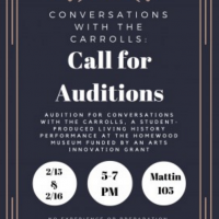 Auditions: Conversations with the Carrolls, by Julia Wareham